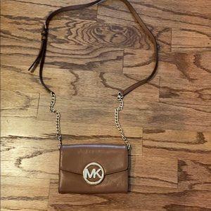 michael kors small crossbody bag, lightly used